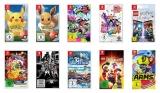 3x Nintendo Switch Spiele (z.B. Mario Kart 8 Deluxe, Animal Crossing: New Horizons, etc.) für 101€ bei Media Markt