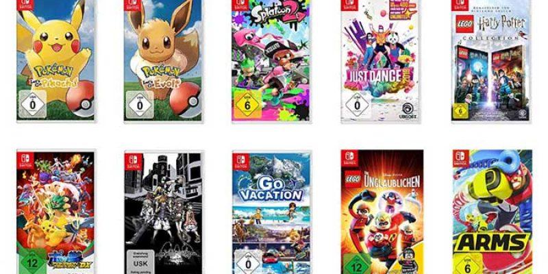 3x Nintendo Switch Spiele für 111€ bei Media Markt