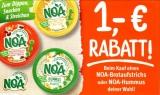 Gutschein für gratis NOA Hummus oder Brotaufstrich bei REWE