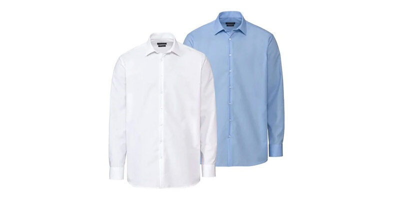 2x Nobel League Businesshemden (Herren, Slim Fit) für 19,94€ bei LIDL