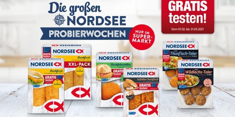 Nordsee Probierwochen – Diverse Fischprodukte gratis testen