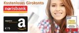 Norisbank Girokonto eröffnen + 75€ Amazon Gutschein geschenkt