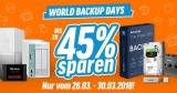 Notebooksbilliger World Backup Days: Diverse Speichermedien mit bis zu 45% Rabatt