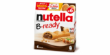 Nutella B-ready Sticks gratis testen – Cashback Aktion