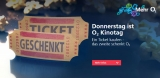 o2 Kinotag 2 für 1: Zwei Kinotickets kaufen & nur Eins bezahlen!