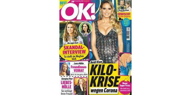 26 Ausgaben OK! Magazin für 72,80€ + 75€ Amazon Gutschein