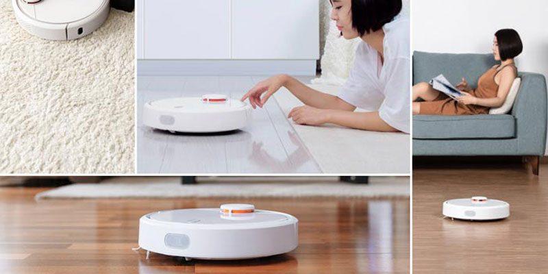 Xiaomi Mi Robot Vacuum Saugroboter mit Laser-Scanner für 186,66€ (DHgate)