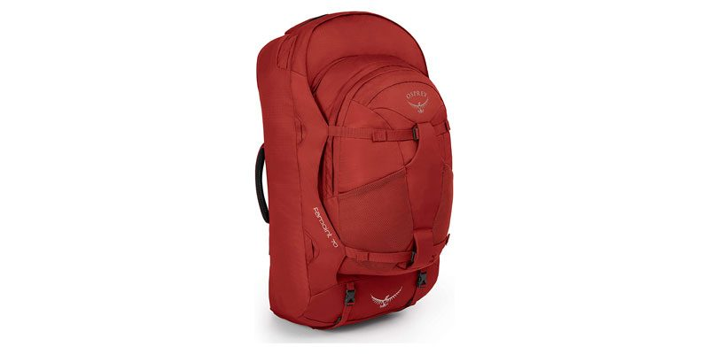 Osprey Farpoint 70 Backpacking Rucksack M/L (jasper red) für 81€