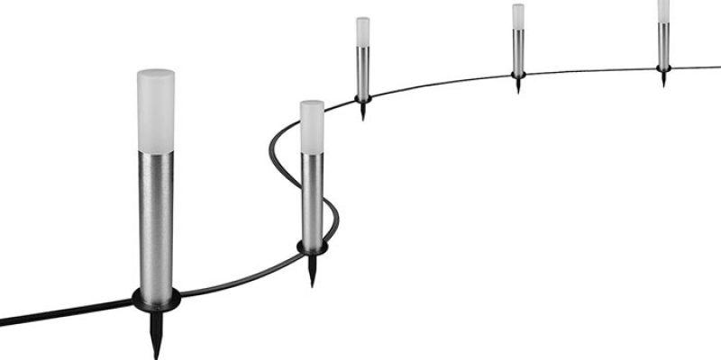 Osram Smart+ LED Gartenleuchte (5 Lampen) für 39,57€ – Alexa kompatibel