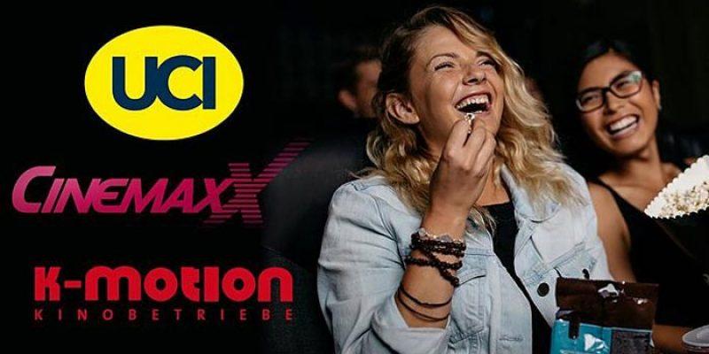 2x CinemaxX, UCI oder CineMotion Kinotickets für je 6,90€ mit Otto UpCard