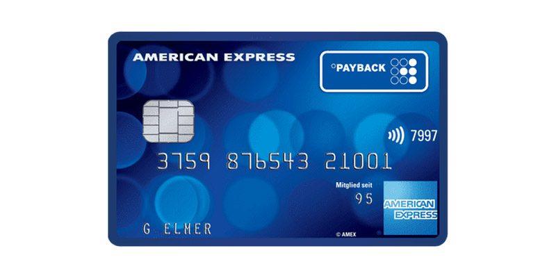 Payback American Express Kreditkarte kostenlos + 4.000 Punkte (40€ Bargeld)