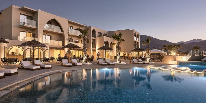 Kreta: Übernachtung im Doppelzimmer des 5-Sterne Pepper Sea Club Hotel, inkl. Halbpension, ab 79€