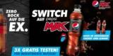 Pepsi Max Gutschein: 3x 0,5 Liter Flaschen Pepsi Max gratis testen mit Coupon