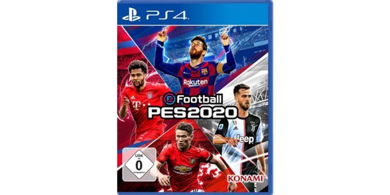 PES 2020 (Pro Evolution Soccer) für Playstation 4 für 34,99€