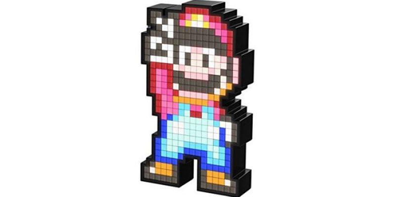 Pixel Pals Leuchtfiguren für 5€ – Super Mario, Superman, Chun Li & Mario Racoon