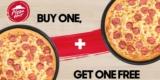 2-für-1 Pizza Hut Gutschein für 0,80€ bei Groupon