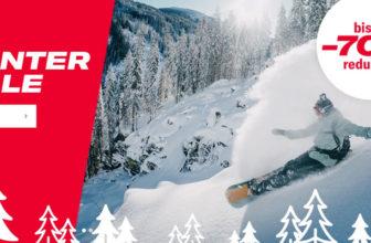 Planet Sports Winterschlussverkauf: bis zu 70% Rabatt + 20% Gutschein