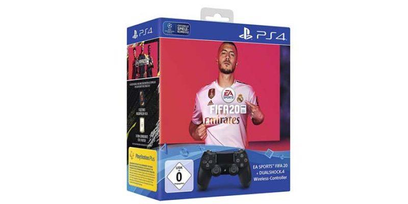 Playstation 4 DualShock Controller + FIFA 20 für 59,99€