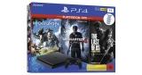 PlayStation 4 Slim 1TB + Uncharted 4, The Last of Us & Horizon Zero Dawn für 254,99€
