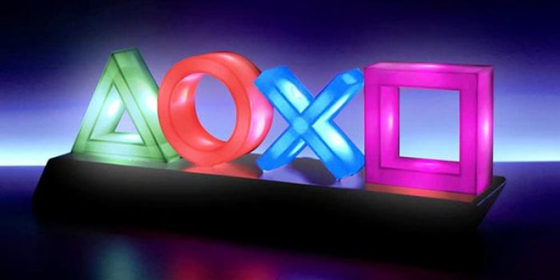 Paladone Playstation Icons Lampe (Gadget für Playstation Fans) für 22,04€
