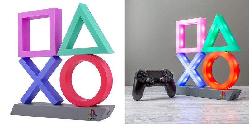 Playstation Icons Lampe XL Paladone (Gadget für Playstation Fans) für 20,59€
