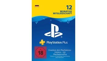 12 Monate PlayStation Plus Mitgliedschaft für 44,99€