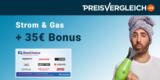 Preisvergleich.de Strom- oder Gas-Wechsel: 35€ BestChoice-/Amazon Gutschein je Wechsel geschenkt