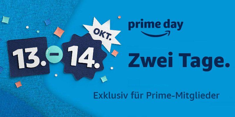 Amazon Prime Day 2020 – 2 Tage lang tausende Angebote [13. & 14. Oktober]