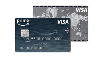 Kostenlose Amazon Kreditkarte + 50€ Startguthaben + 3% Cashback