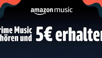 Amazon Prime Music Aktion: 30 Sekunden Musik streamen = 5€ Amazon Gutschein