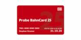 Probe BahnCard 25 für 9,90€ (2. Klasse) bzw. 19,90€ (1. Klasse)