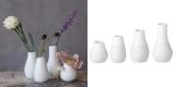 4er Set Räder Minivasen (Höhe: 4 – 8,5 cm) für 7,99€