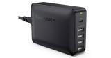 RAVPower 5-Port Ladegerät 60W mit 45W USB-C Power Delivery für 21,99€