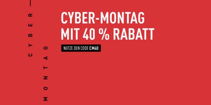 Reebok Cyber Monday: 40% Gutschein auf reguläre Ware & 50% Rabatt auf Sale