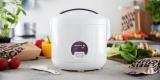 Reishunger Reiskocher mit 500 Watt (1,2l Volumen) + Basmati und Jasmin Reis für 27,18€