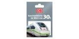 30€ Deutsche Bahn Geschenkgutschein für 26€ bei REWE