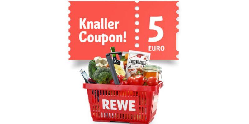 5€ REWE Gutschein ab 40€ Einkaufswert über die App (im Supermarkt vor Ort) – jeden Freitag ab 25.09.2020