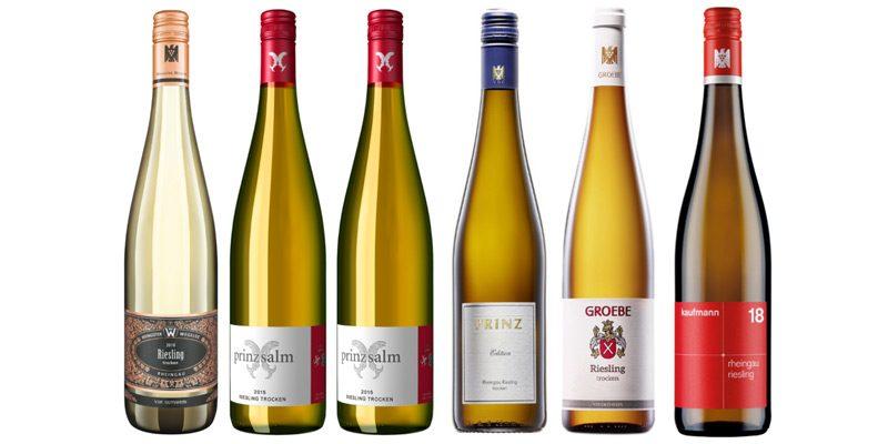 Riesling Winzerbox – 6 ausgewählte Weine für 36,99€ (inkl. Versand)
