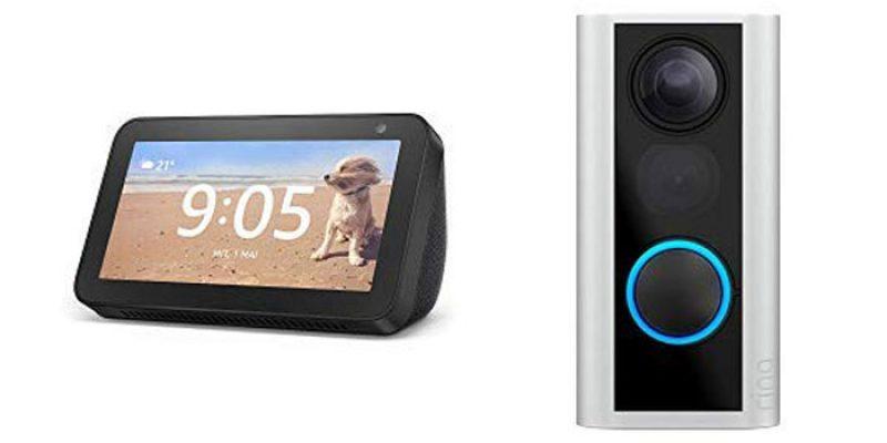 Ring Door View Cam + Amazon Echo Show 5 für 149€