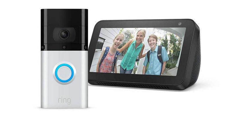 Ring Video Doorbell 3 Plus + Echo Show 5 für 159€