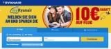 10€ Ryanair Gutschein für Anmeldung bei myRyanair: Kostenlose Flüge möglich!