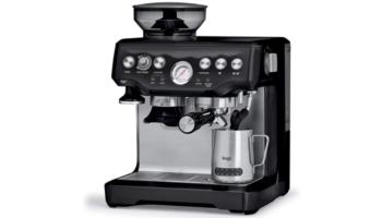 Sage Barista Express Kaffeemaschine SES875 für 467,90€ (Siebträgermaschine + Mahlwerk + Milchaufschäumer)