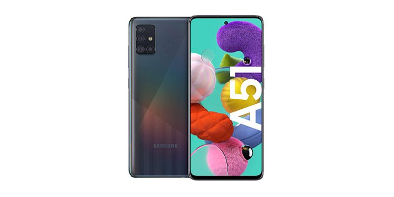 Samsung Galaxy A51 (6,5 Zoll, 128 GB Speicher & Exynos 9611 Prozessor) für 215,96€