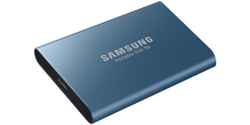 Samsung Portable SSD T5 500 GB Festplatte für 60€
