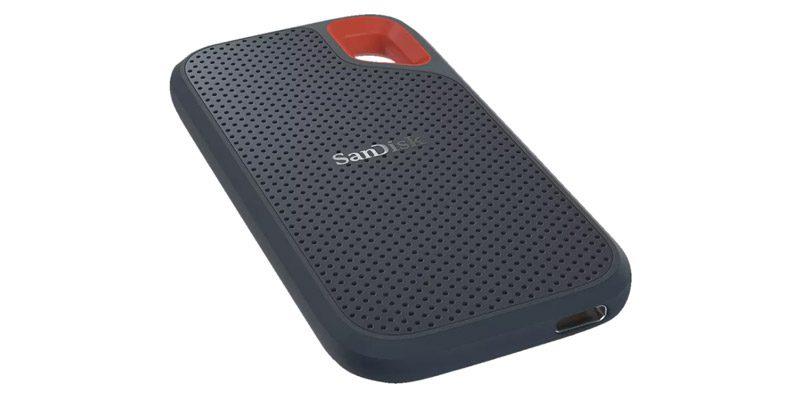 SanDisk Extreme Portable SSD 1 TB (wasserfest) für 118,79€
