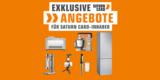 Saturn Card Deals: Angebote für Saturn Card Kunden – z.B. Sage The Smart Scoop Eismaschine für 259,99€