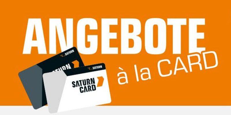 Saturn Card Deals: Angebote für Saturn Card Kunden – z.B. Unold Eismaschine für 242,72€