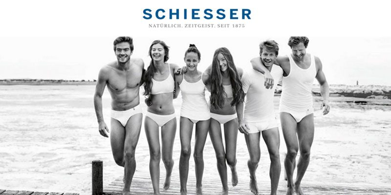 20% Schiesser Gutschein auf Unterwäsche (auch auf Sale) + gratis Versand