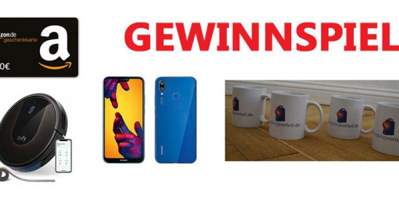 Gewinnspiel zum 5. Geburtstag von Shoppingvorteil.de – Preise: Saugroboter, 100€ Amazon Gutschein, Smartphone, etc.