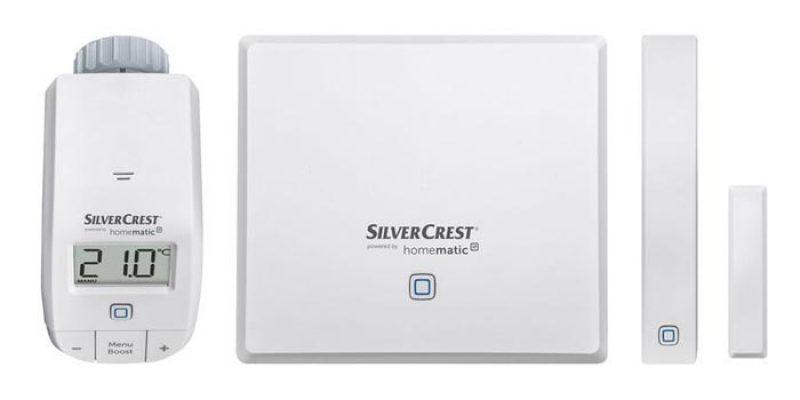 Silvercrest Heizen Smart Home Starterkit für 54,94€ bei LIDL – Heizkörper-Thermostat & Fenstersensor